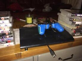 Slim ps3 with 25+ plus games