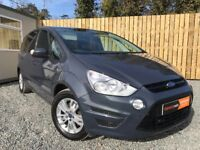 2011 FORD S MAX ZETEC 2.0TDCI 140 BHP 7 SEATER MPV Mint Condition(galaxy voyager cars vauxhall )