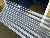 Corrugated PVC Roofing Sheets - Brand New