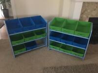 Children's toy storage