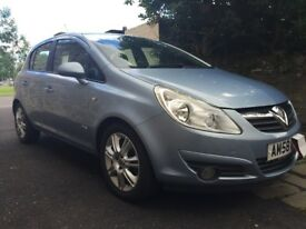 Vauxhall Corsa 1.2 Design. 5 door. Excellent condition. A/C, Half leather. Alloys. Price lowered.