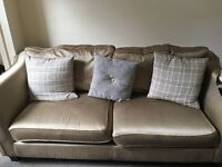 3 piece suite- 3 seater sofa 2 armchairs