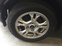 Ford Fiesta alloy wheels 2014 titanium