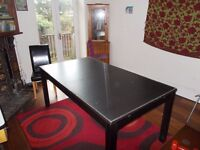 Wooden Dining Table, good condition, seats 6-8