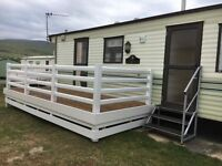 6 Berth Static Caravan to hire Barmouth / Talybont