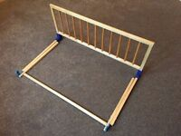 Wooden Cot Side for Children's Bed