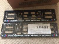 BMW number plate surround e46