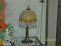 Beautiful glass 1920's style table lamp