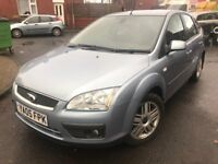 05 plate - Ford Focus 1.6 - ghia model - one year mot - service history
