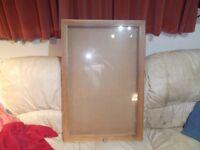 glazed display board