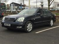 2003 LEXUS LS430 * CHOICE OF 2 IN STOCK * SAT NAV * LEATHER * FULLY LOADED * PART EX * DELIVERY *