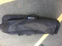 Drum fittings soft bag with wheels