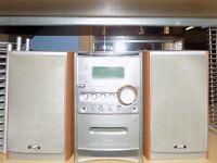 JVC Hi-Fi Casette/CD Player - £20 +2 cd racks free