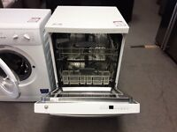WHITE RE-CONDITIONED DISHWASHER WITH 3 MONTHS WARRANTY CAN DELIVER
