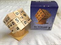Su Dokube - the diabolical mind teaser! Based on the original Su Doku game. COMPLETE. £1.50.