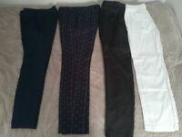 NEXT ladies trousers size 8L