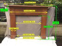 Wooden Mantelpiece / Fire Surround