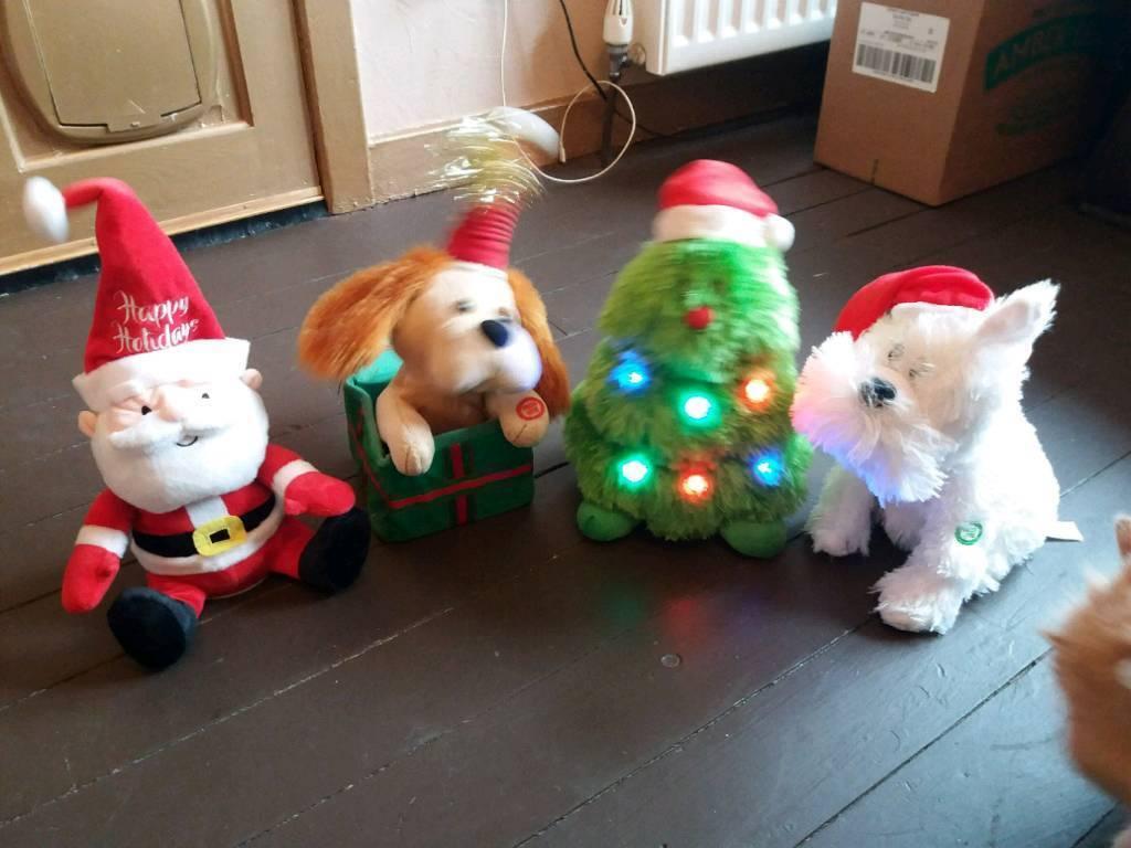 musical dancing christmas decorations