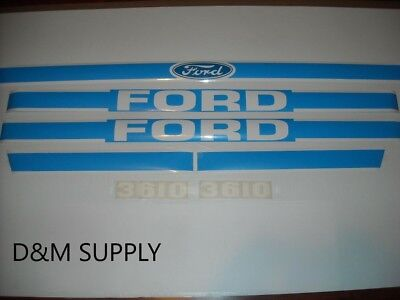 Ford 3610 Tractor Decal Set Kit Hf3610b