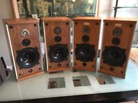 Set of four B&W 50w speakers. Two fully functioning, two for parts.