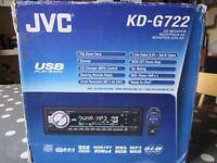 JVC KD-G722 CAR CD/MP3/RADIO PLAYER
