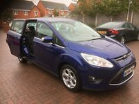 7 Seater 2015 Ford Grand C-Max Tdci 2.0 Diesel 23000 Genuine Low Mileage 10 Months MOT 2 Owners