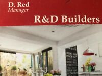 Builders Team available for more work : New build projects , Refurbishment