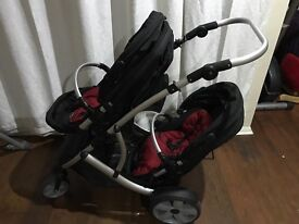 Double buggy good condition