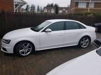 Audi A4 sline white