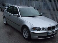 """BMW 318Ti Compact 3 Door """"MOT JULY 2018"""" with full S/H Two owners from new"""