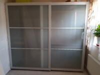 ikea sliding doors (x2) for sale - £30