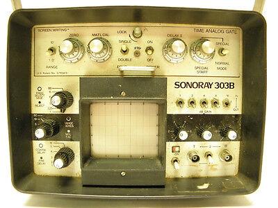 Krautkramer Branson Sonaray 303b Battery Operated Test Equipment Graphic Display