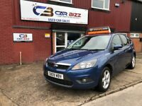 2009 FORD FOCUS ZETEC TDCI 1.6 DIESEL*12 MONTHS AA BREAKDOWN COVER*BLUETOOTH*VOICE COMMAND*