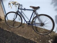 Raleigh sports bicycle circa 1960