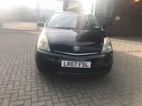 Toyota Prius hybrid year mot and £20 yr tax only £1750