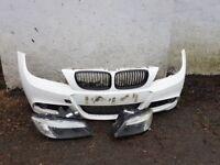 Bmw m sport front bumper