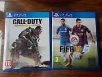 PS4 Games. (£10 Each.)