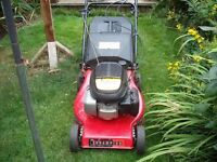 Champion Petrol Mower (full working order)