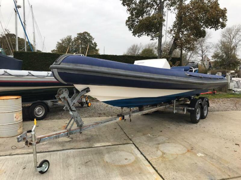 Ring Powercraft 6.5m rib boat mercury 150 optimax outboard engine  for sale  Bournemouth, Dorset