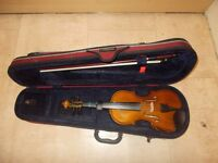 Violin: 1/4 Size Stentor Student II Violin Outfit