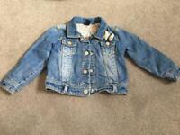 Zara Baby girl jacket coat 24 months