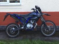 Yamaha WR125 R 15 plate