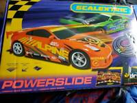 scalextric set powerslide never been used