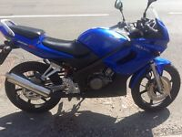 [SWAP/SELL] Honda CBR 125 (Less than 3k milage) for YZF 125