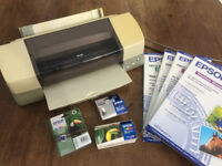 Epson Printer Stylus Photo 1290 plus Paper & Ink