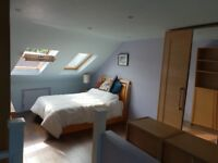 Double w/Ensuite v. nr tube Gay and LGBT Friendly Clean Sunny Loft Space in Professional Household