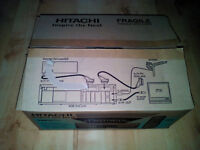 HITACHI VT-MX410E VHS Video Player/VCR, NTSC & PAL, in original box.