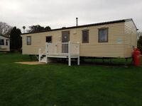 STATIC CARAVAN FOR SALE AT WEYMOUTH BAY HOLIDAY PARK DORSET