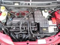 2003, FORD KA 1.3, (Spears or Repairs) Good Engine and Gearbox,