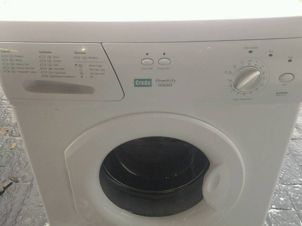 Creda washing machine as new